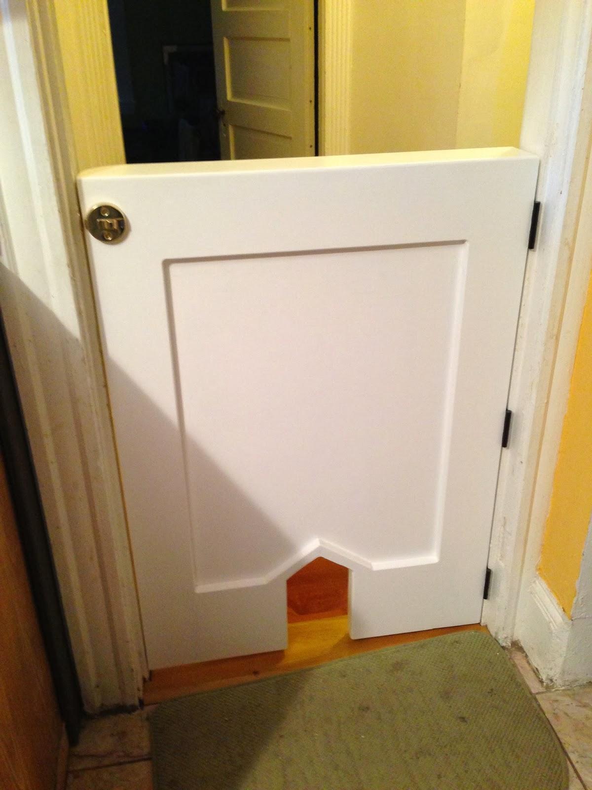 Hallway Door From Kitchen