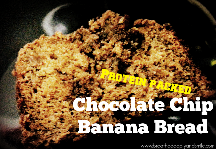 Protein Packed Chocolate Chip Banana Breadtitle1
