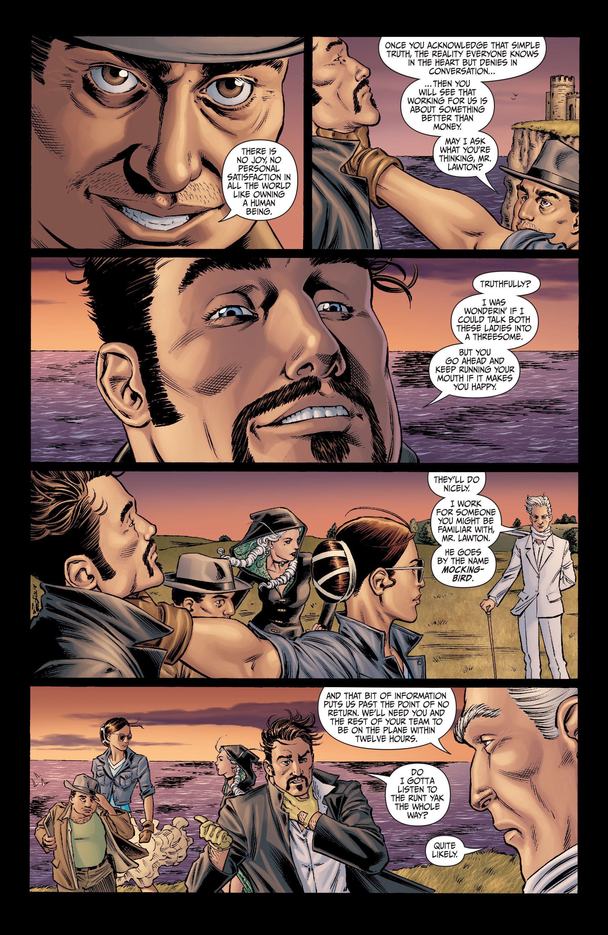 Read online Secret Six (2008) comic -  Issue #10 - 15