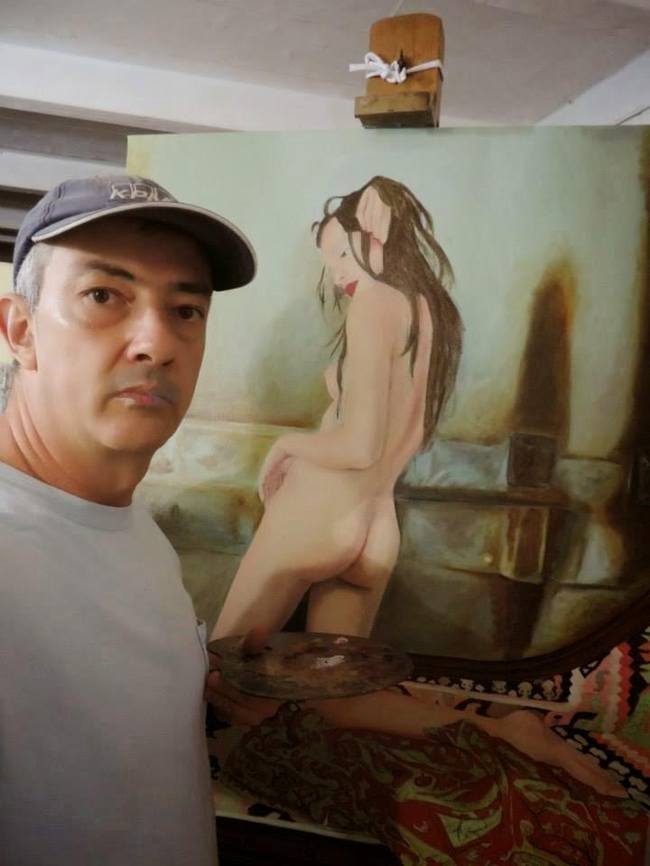 pintura realista por Jorge Marín