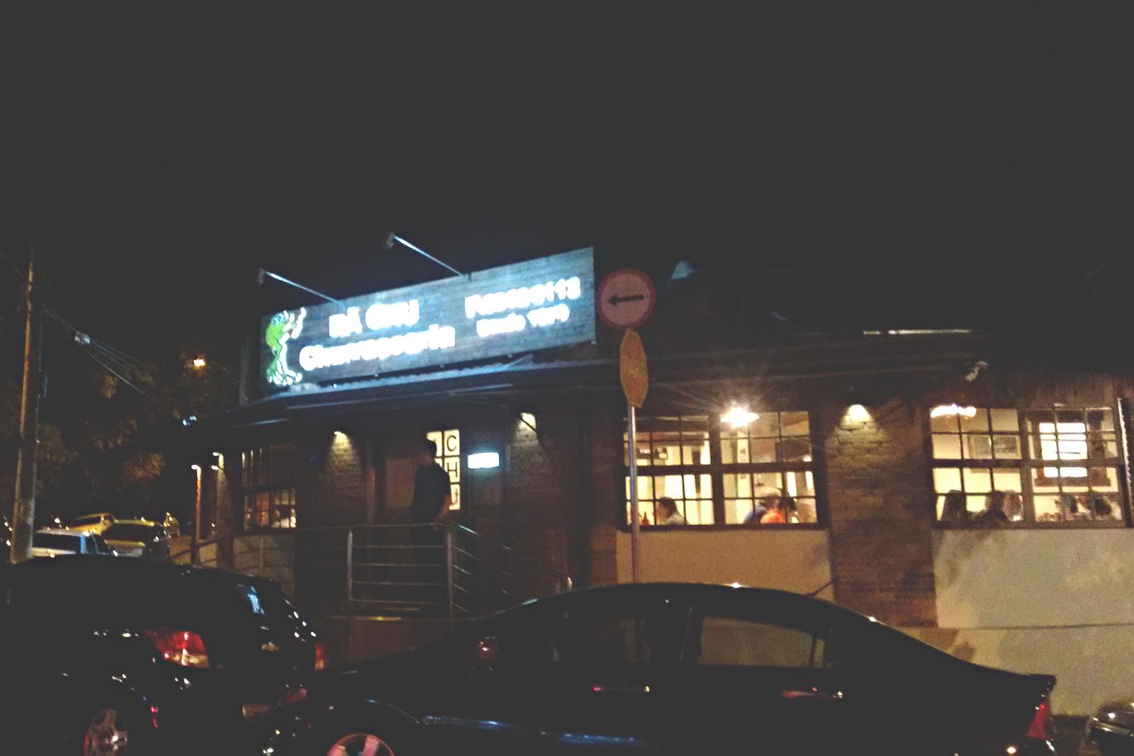 fachada noite restaurante rã-chu campinas