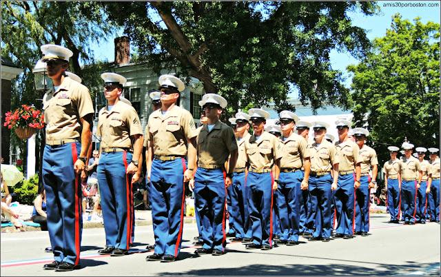 Militares Desfile 4 de Julio en Bristol