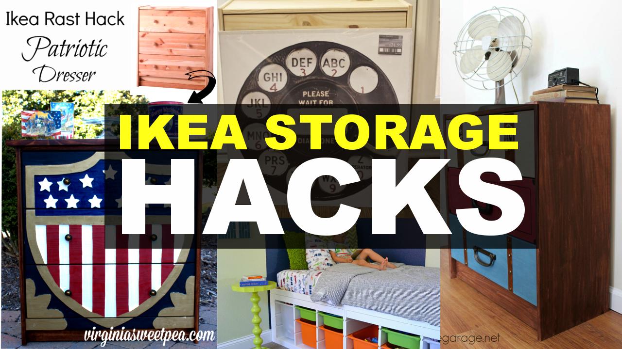 ikea storage makeover ideas