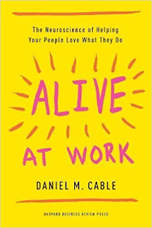 Alive at work de Daniel Cable