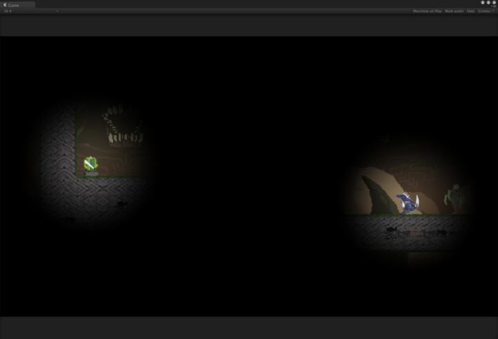 Boia Games: Simplified lighting for Unity 2D using a screen
