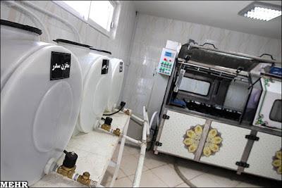 di iran tersedia mesin cuci khusus jenazah