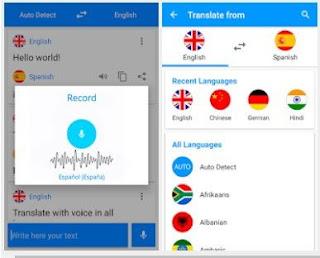 تنزيل برنامج Translate voice – Pro v11.0 Apk مهكر تحديث 2019 ، أفضل مترجم صوتي ناطق و نصي مكتوب لكل اللغات | تحميل تطبيق الترجمة الصوتية والكلام وترجمة النصوص المكتوبة المباشرة Translate Voice Pro  النسخة المدفوعة مجاناً لاجهزة الاندرويد الموبايل الجوال والتابلت اخر اصدار