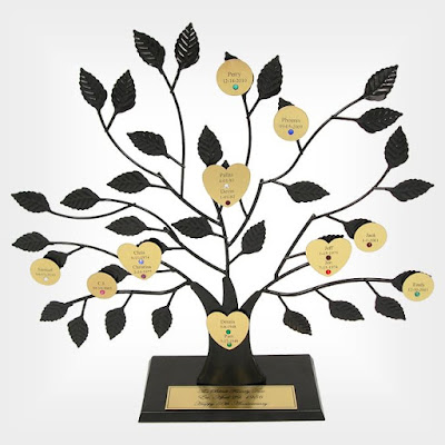 Personaized Family Tree Sculpture