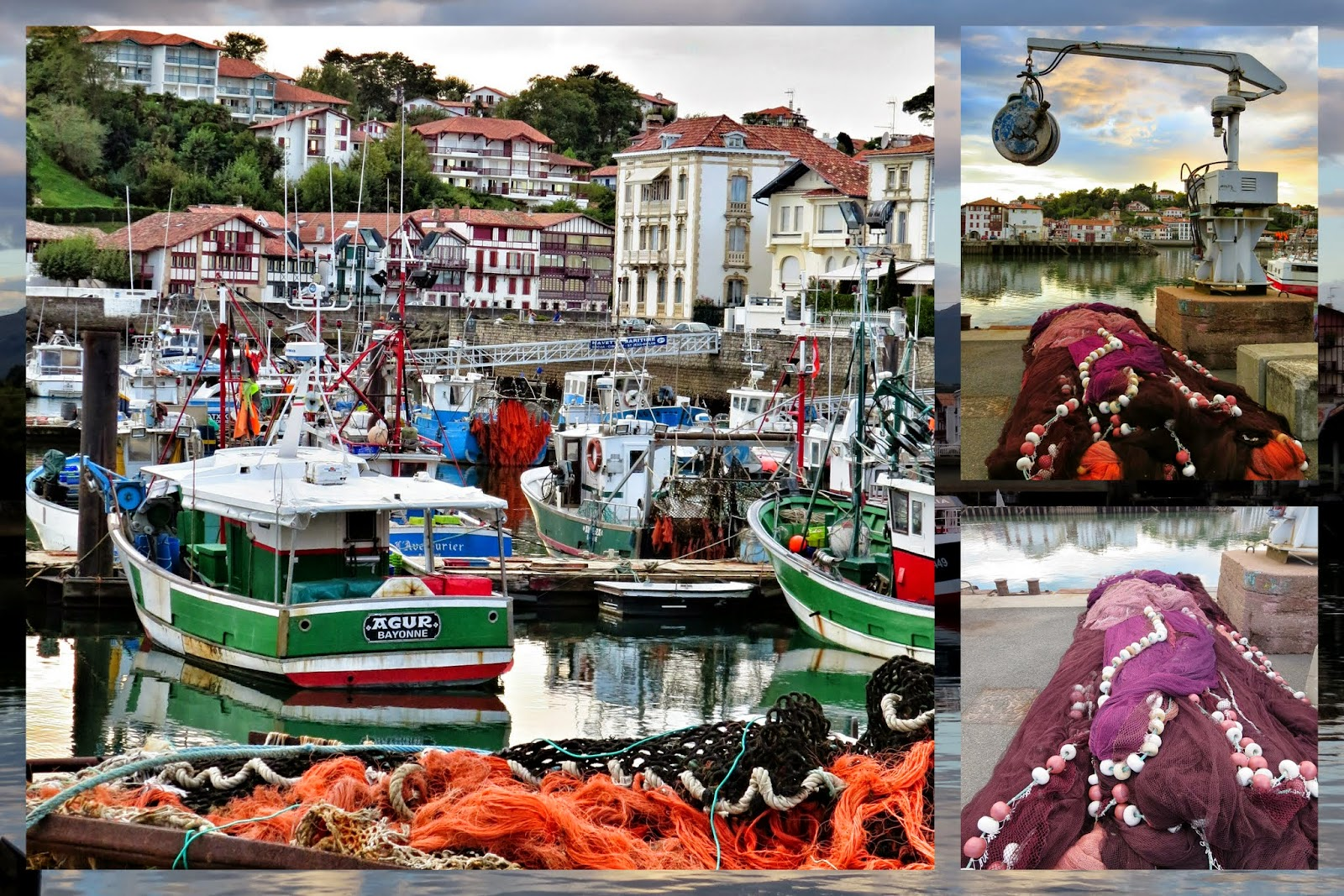 A Weekend in French Basque Country - Harbour - St. Jean de Luz