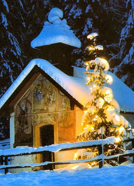 Árvore de Natal, Mittenwald, Baviera, Alemanha