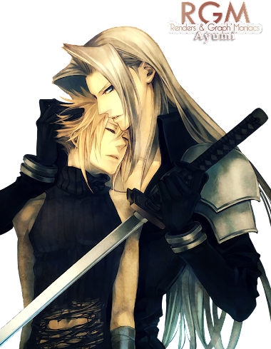 render Sephiroth x Cloud