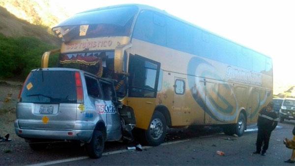 Accidente fatal en la ruta Villazón - Potosí