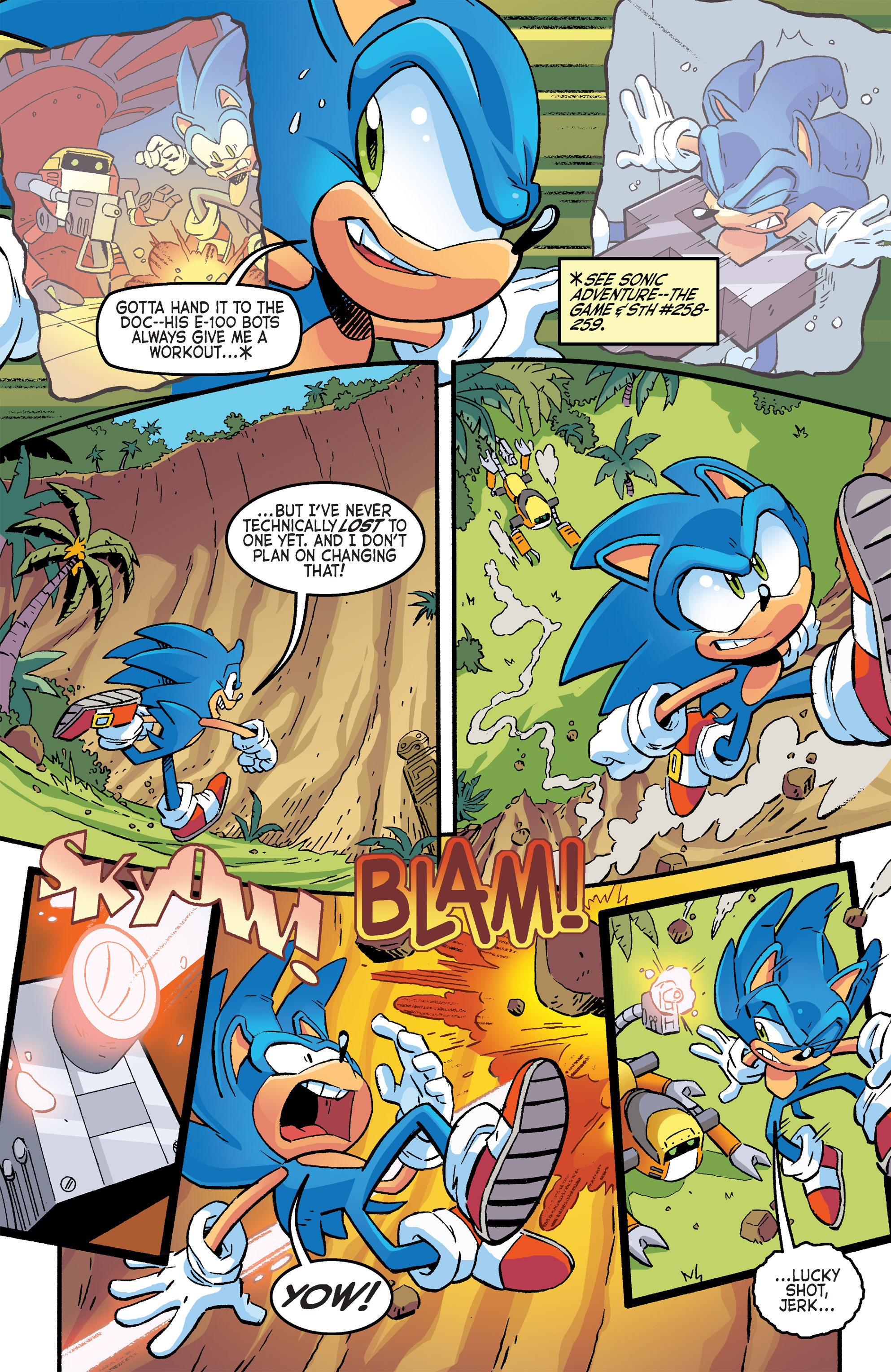Read online Sonic The Hedgehog comic -  Issue #264 - 5