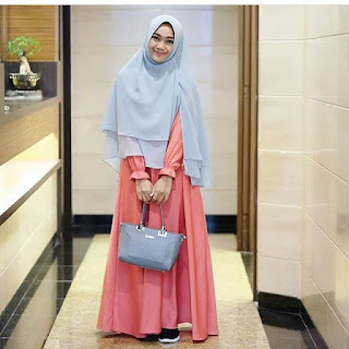Gamis Polos Casual