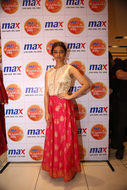 Actress Radhika Apte at Max's store in Mall of India, Noida