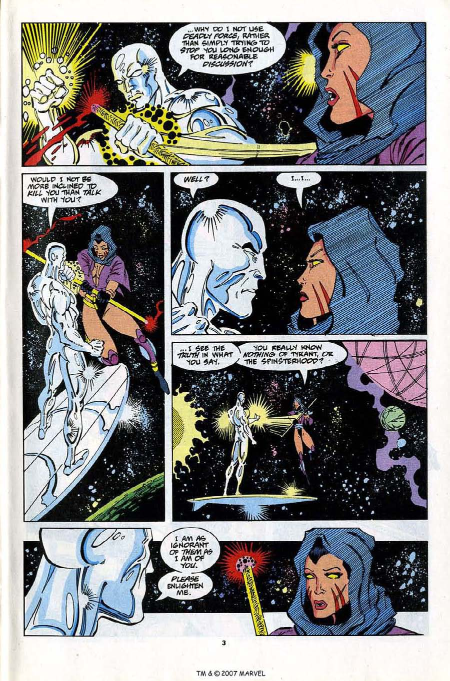 Read online Silver Surfer (1987) comic -  Issue #81 - 5