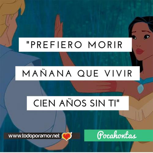 frases de amor de Disney