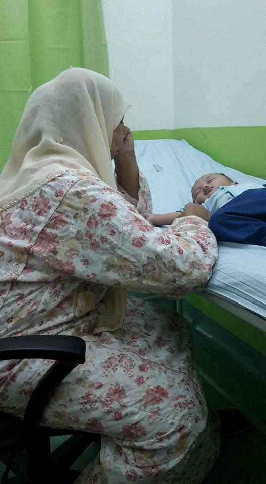 Ibu Terkejut Anak Cedera Teruk Selepas Diambil Dari Rumah Pengasuh
