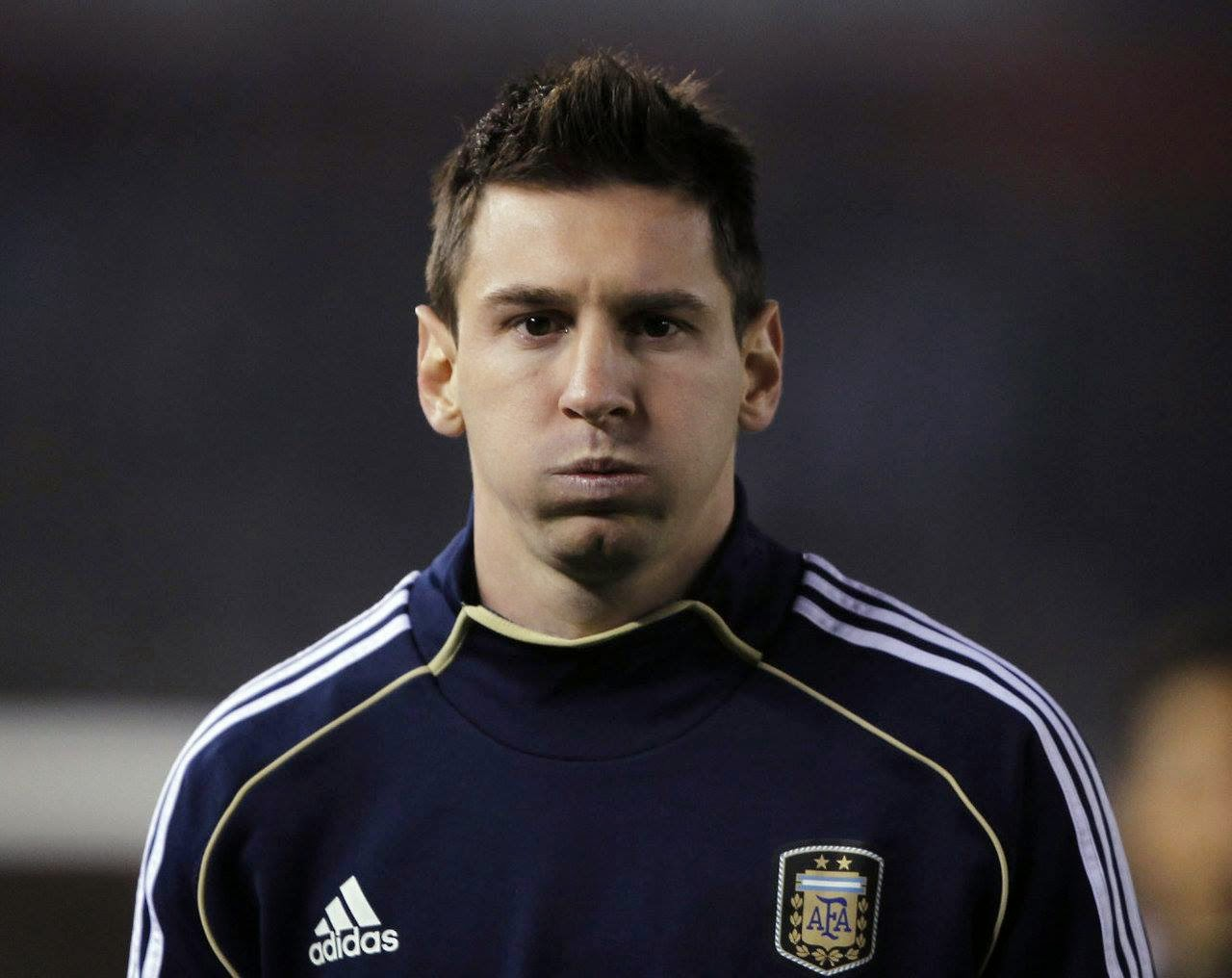new lionel messi hairstyle 2014