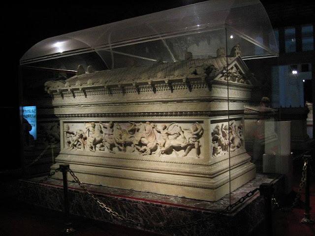 Alexandre, o Grande - Sarcófago