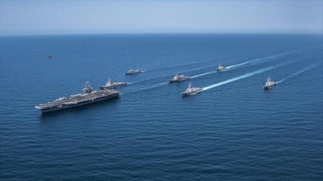 Nave de guerra de EEUU colisiona con un barco pesquero surcoreano