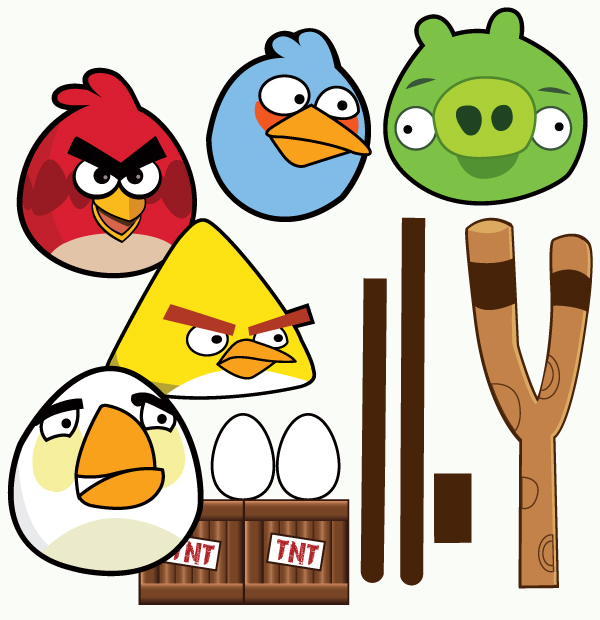 Wants and wishes party planning real parties angry birds birthday