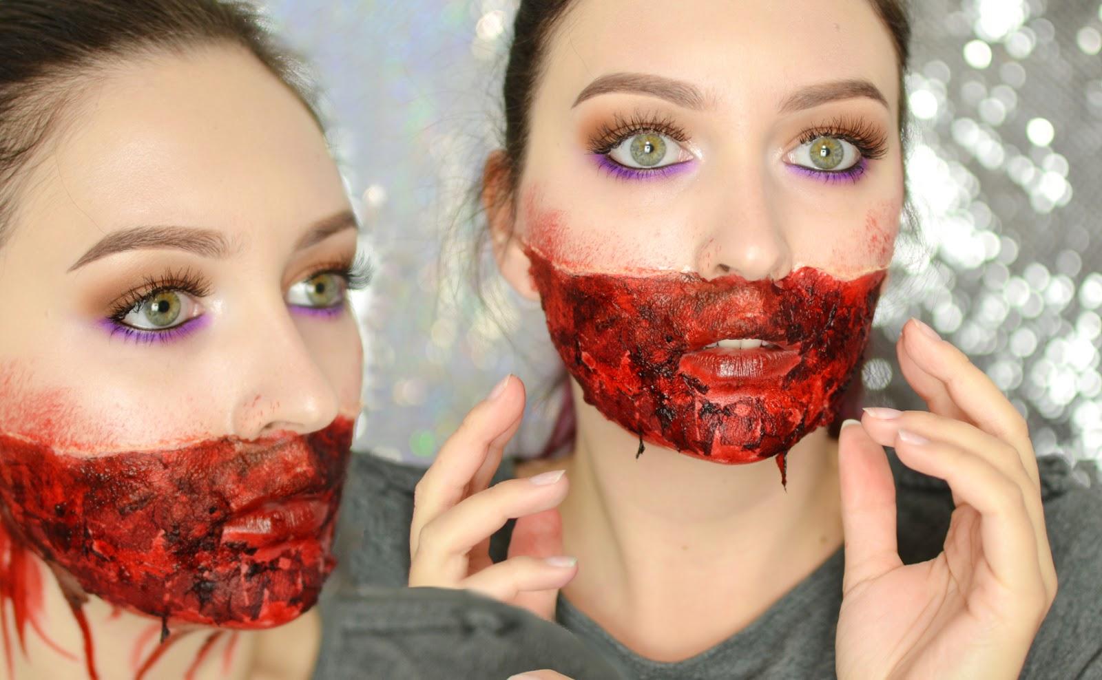 makijaż na halloween charakteryzacja