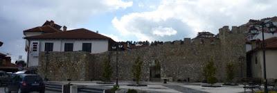 Muralla de Ohrid.