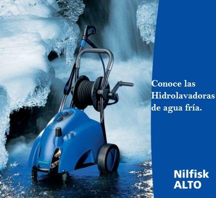 Hidrolimpiadoras industriales de agua fria nilfisk