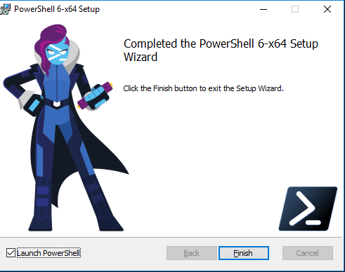 New features of the Windows installer in PowerShell Core 6 1