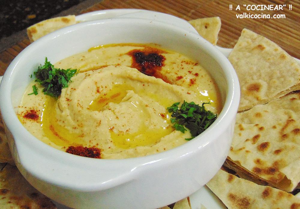 Hummus  Y Tahini Casero