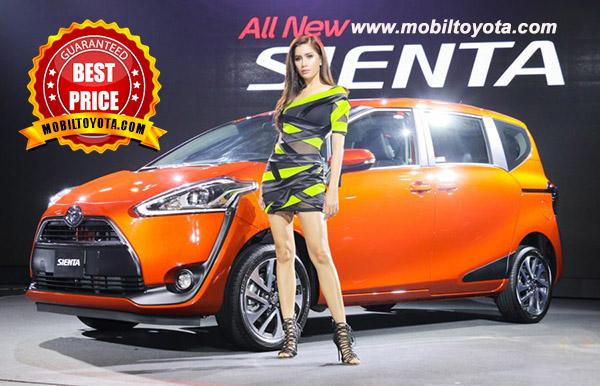 Harga Toyota Sienta Termurah di Jakarta Tangerang Bekasi Depok Bogor
