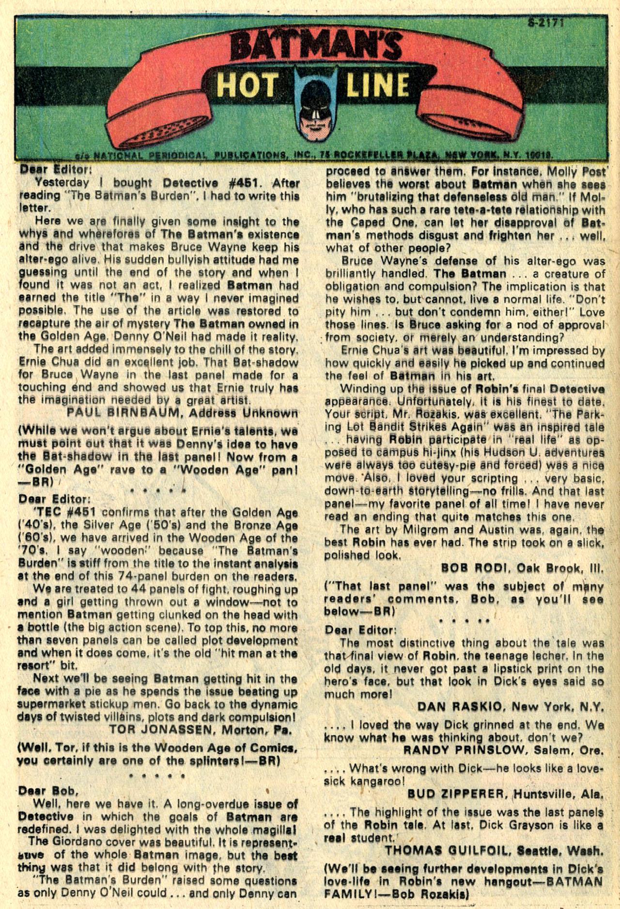 Detective Comics (1937) 455 Page 11