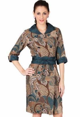 Style baju batik casual terbaru untuk santai