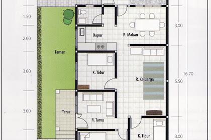 62 Gambar Desain Rumah 1 Lantai 3 Kamar Sederhana Yang Bisa Anda Tiru Download