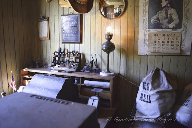 1880 Town - Dakota del Sur, correos