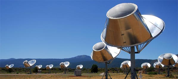 Allen Telescope Arraya - ATA - SETI