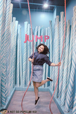 Anna De Jesus Jumps in The Dessert Museum