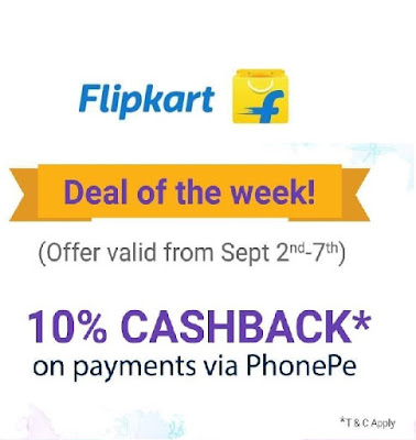 FlipKart Discount Offers- Get Rs 100 off on your Rs 1000 Purchase and Get Rs 50 off on your Rs 500 Purchase