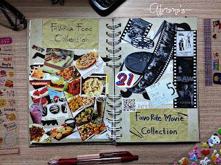 Present For Myself DIY Scrapbook Idea Hadiah Untuk Diri Sendiri