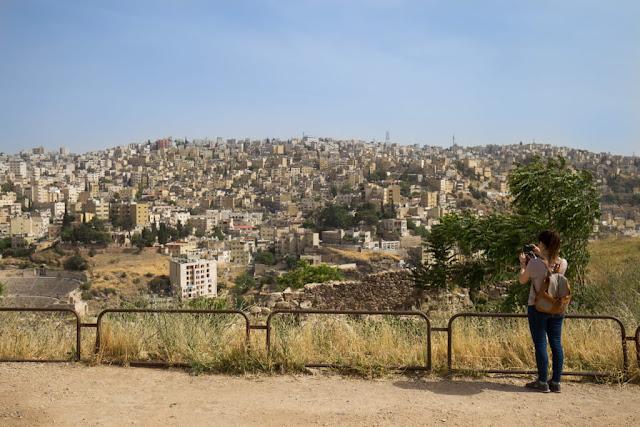 Vistas de Amman desde la Ciudadela
