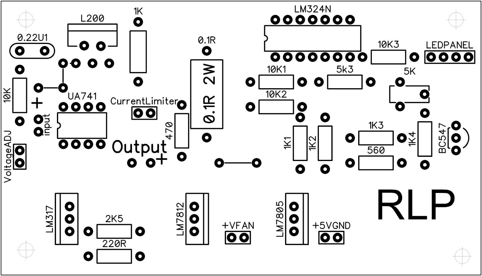 Make A Lab Bench Power Supply