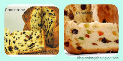 London Girls: Receitas da Ana: Panetone + Chocotone