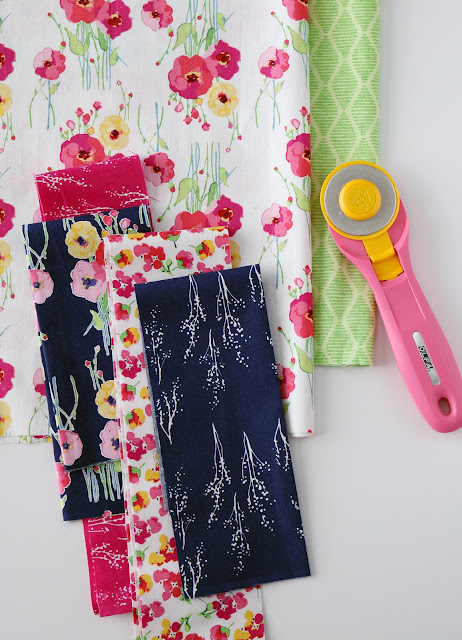 Fruitful Pleasures fabrics by Lila Tueller for Riley Blake Designs