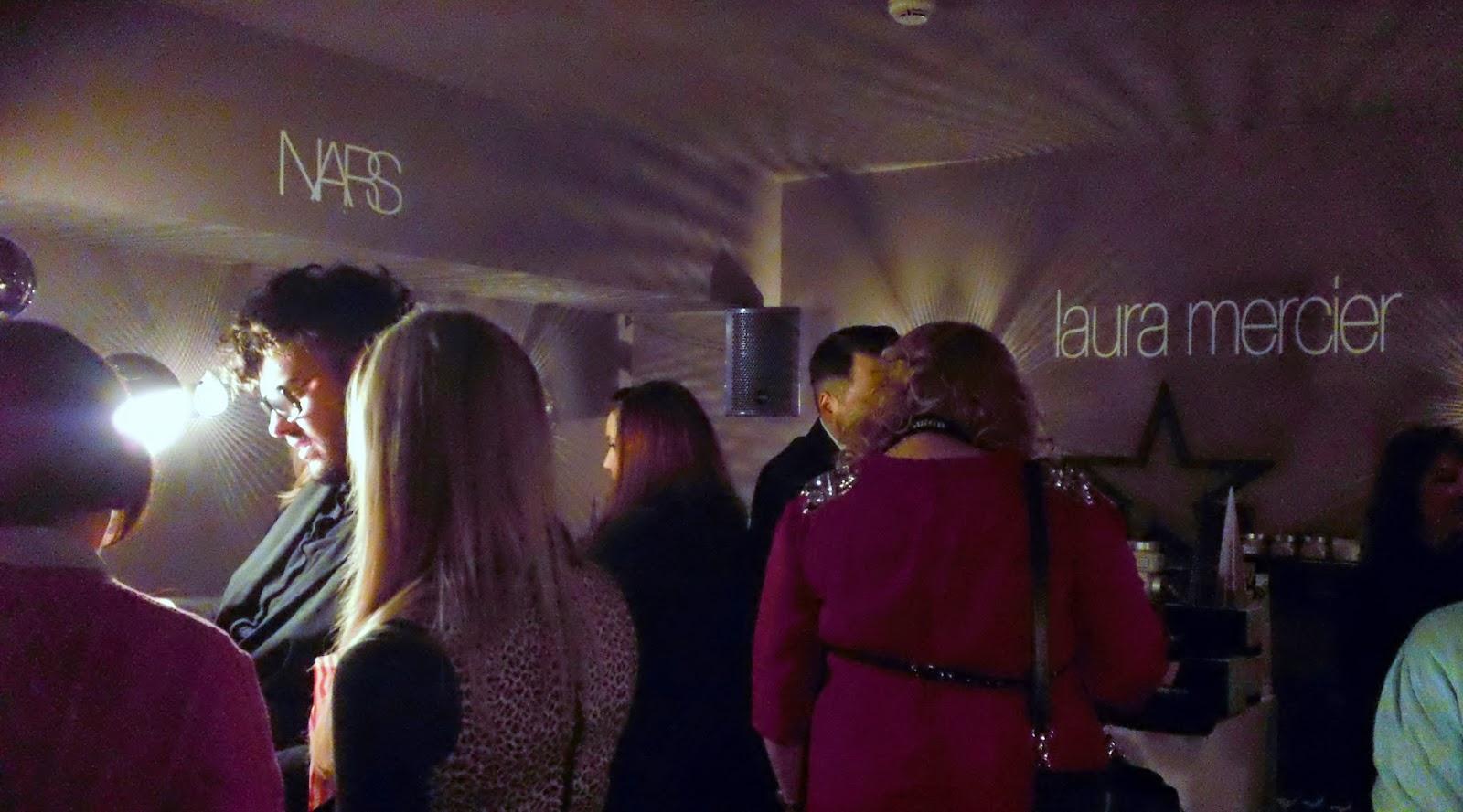 John Lewis Press Event, John Lewis Christmas, Kuku Club, Park Plaza Hotel Cardiff, Laura Mercier, NARS