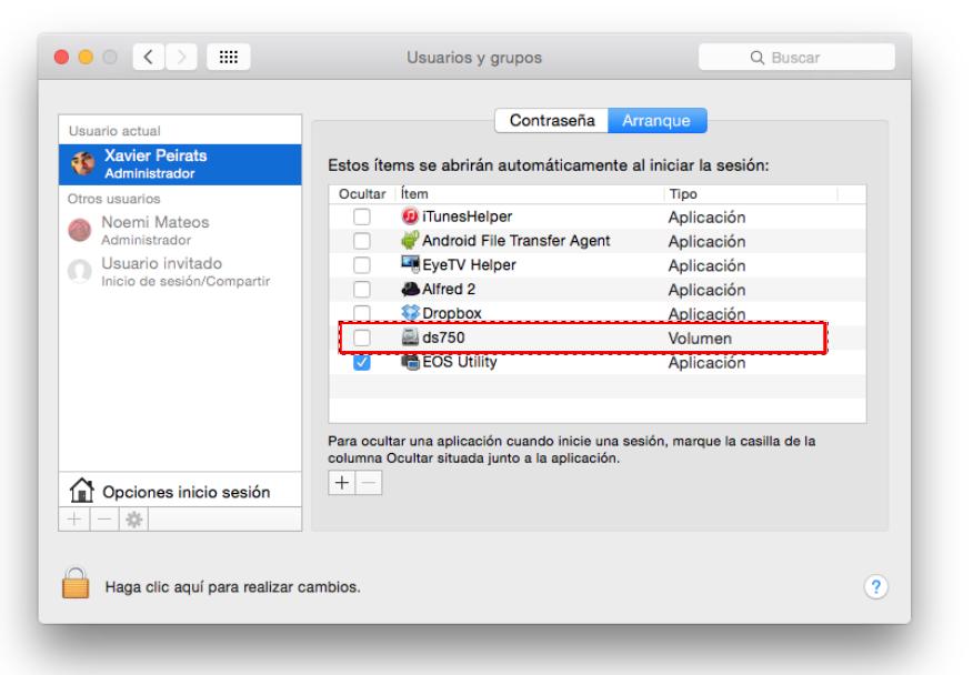 Conecta un NAS Synology al Mac en Yosemite (OS X 10 10