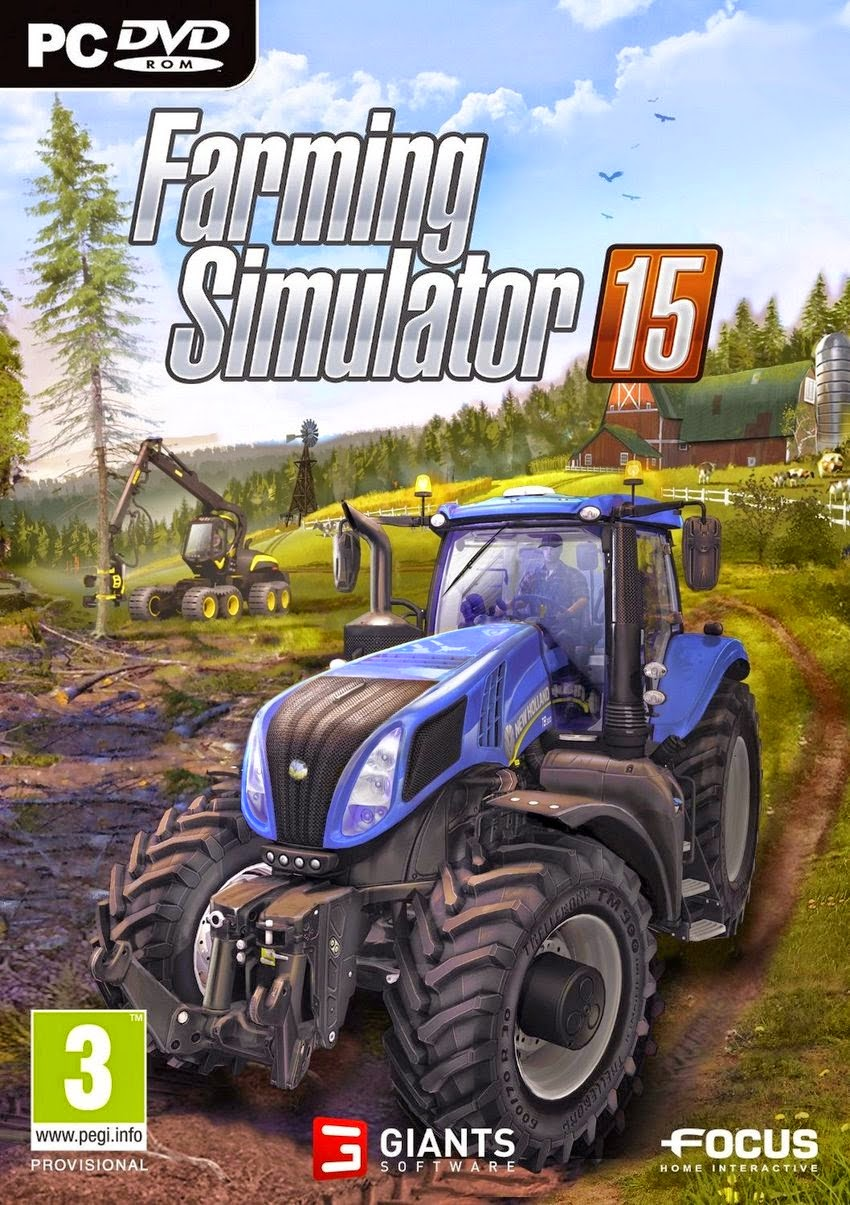 Farming Simulator 15 PC Cover Caratula