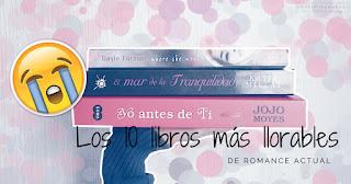 Libros de romance tristes y llorables