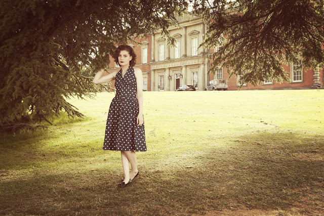 Helen Mae Green for English Country Vintage, Tip Top Hair Design, and Steve Bond Images