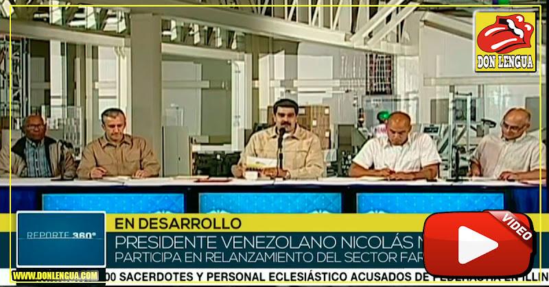 Maduro ahora dice que aceptará cualquier ayuda con medicinas de Estados Unidos
